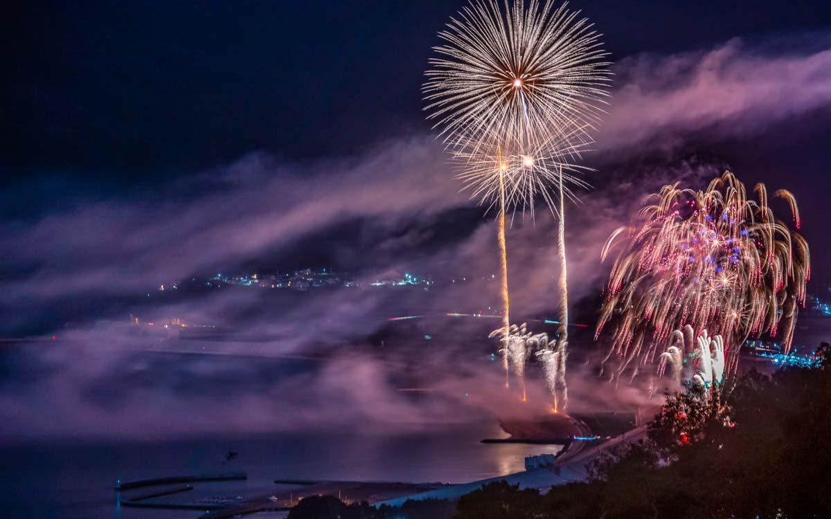 【国内旅行】2020年最大の花火大会・三陸花火大会に行ってみた【Go To, 旅写真】